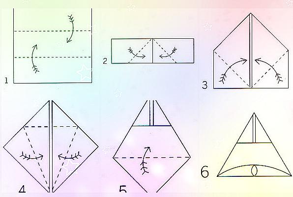 Схема салфетка