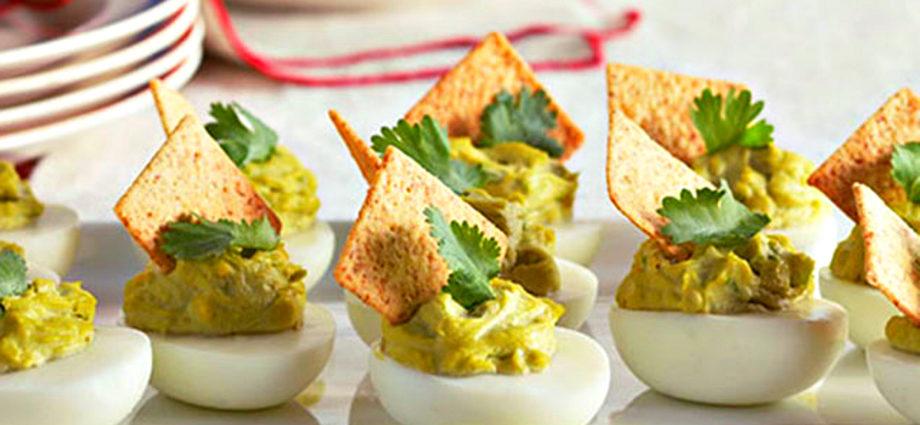 10 рецептов фаршированных яиц