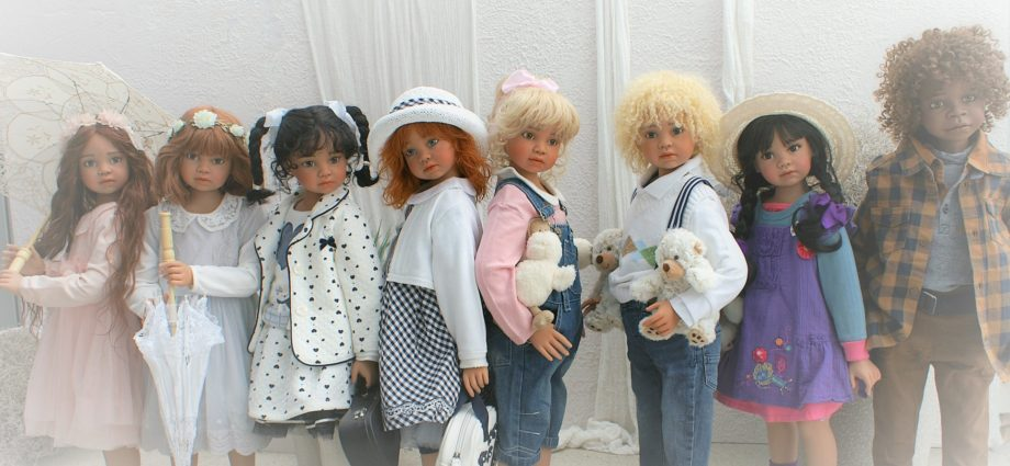 Хобби кукла. Angela Sutter Коллекция 2018