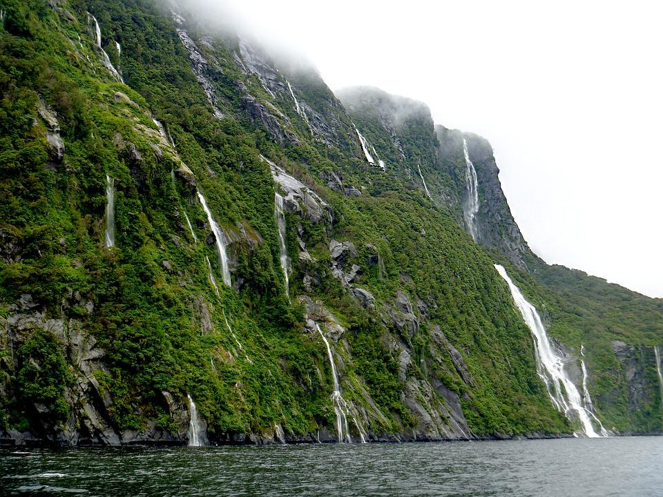 Милфорд-Саунд,Новая Зеландия