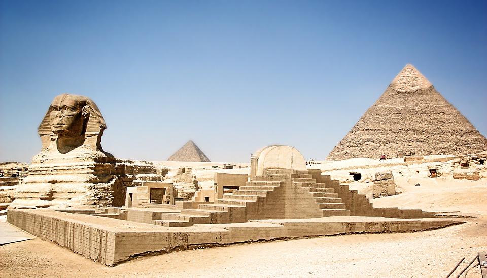 ПирамидыГизы, Египет