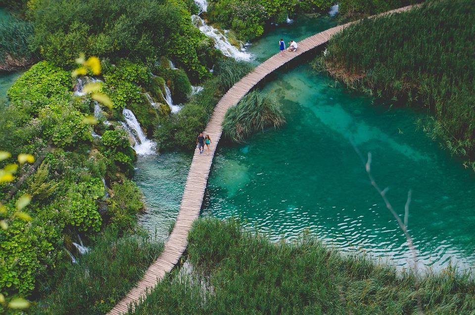 Национальный паркПлитвицкиеозера, Хорватия