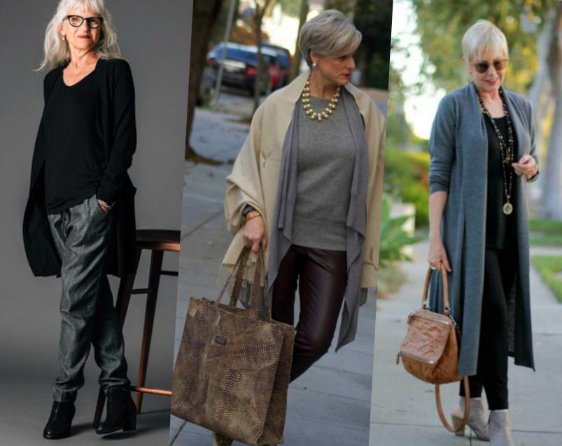 Модные зрелые женщины