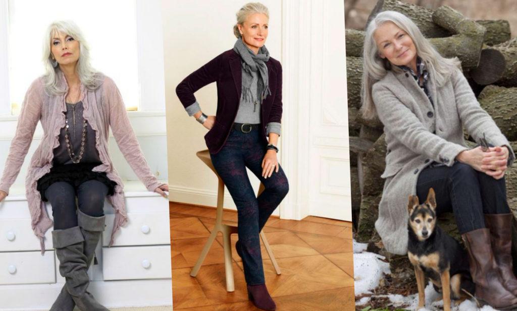 Модная одежда в зрелом возрасте