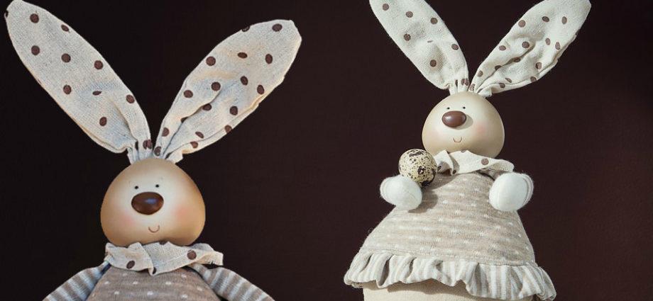 Кроличьи ушки Поделка