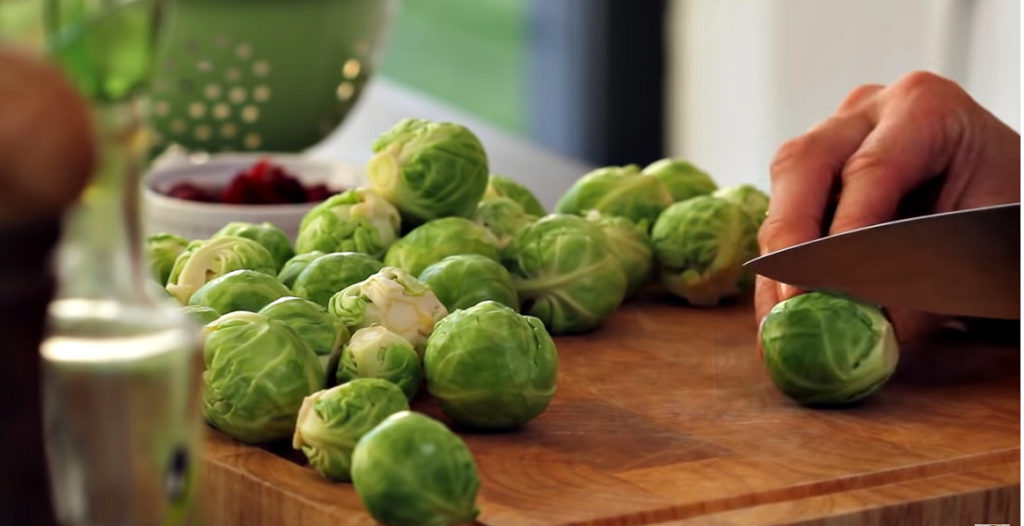 Рецепт: брюссельская капуста в духовке
