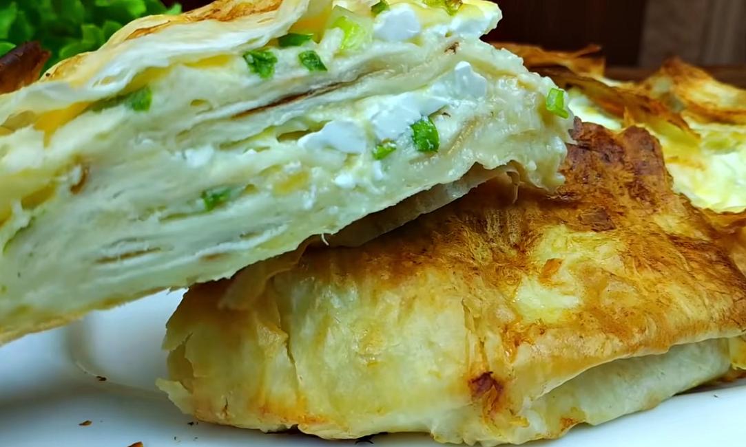Рецепт пирога из тонкого лаваша