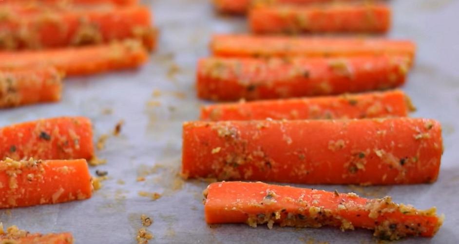Морковь Рецепт в духовке