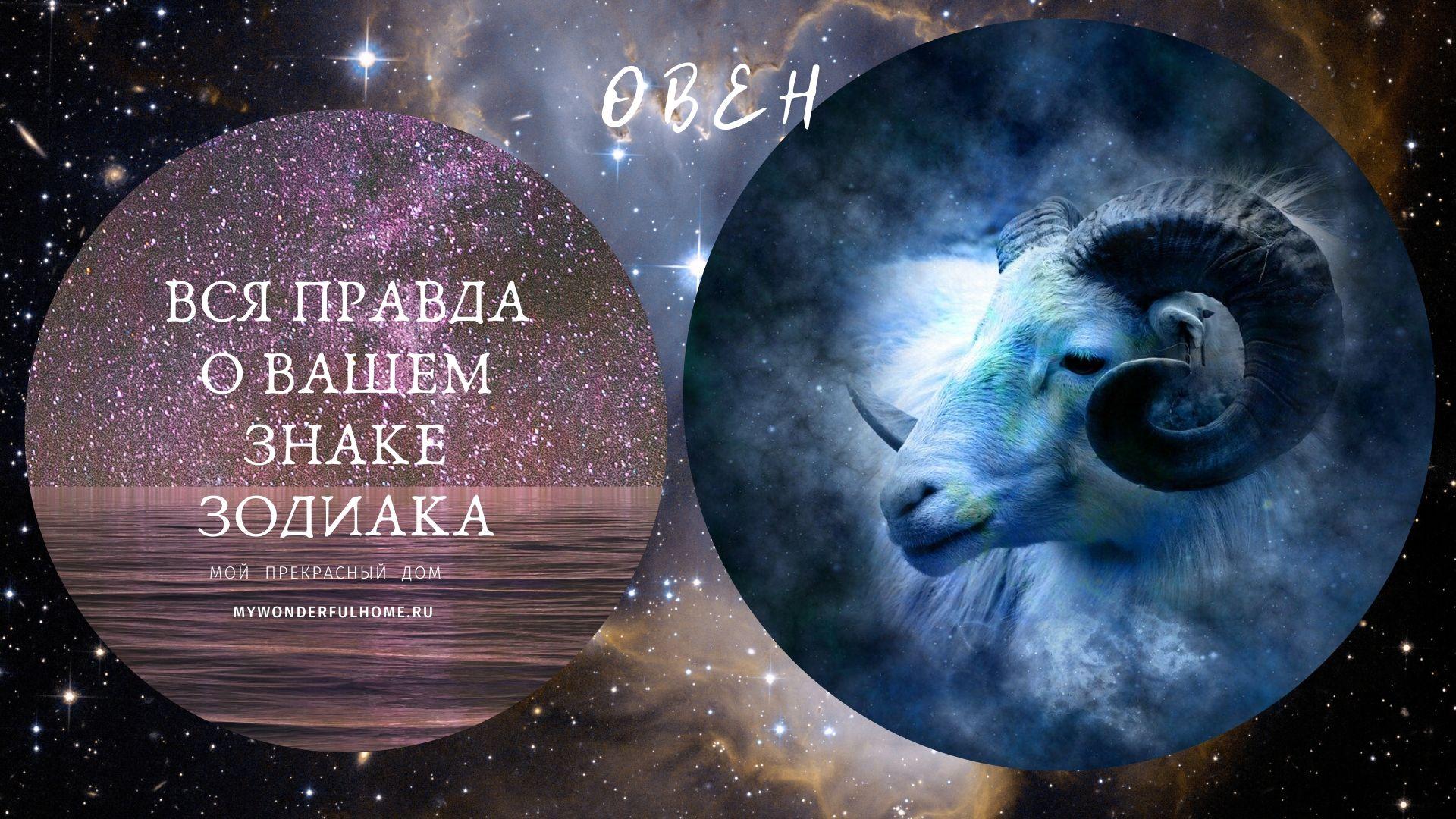 Овен зодиак