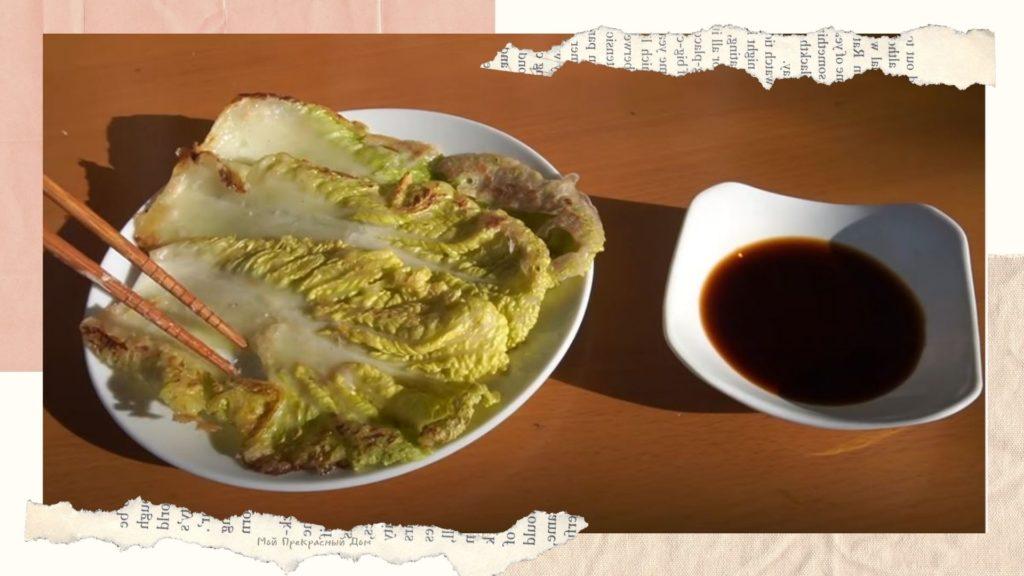 Пекинская капуста в кляре